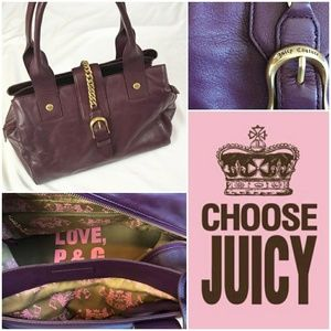 Juicy Couture Leather Satchel